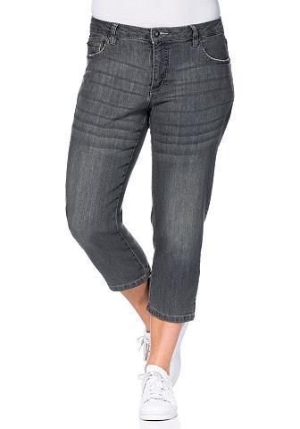 3/4 джинсы