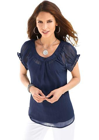 Блуза + Top: блуза с Blende и декорати...