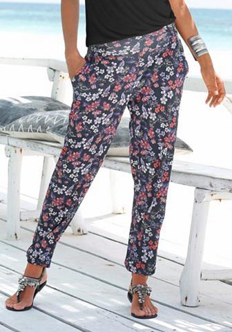 Пляжный брюки пляжные с цветочный узор...