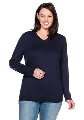 SHEEGO BASIC Пуловер с V-образным вырезом
