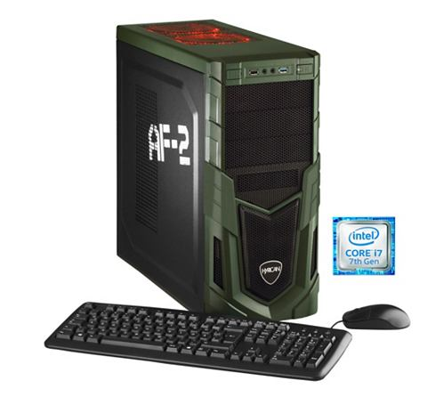 Gaming PC Intel® i7-7700K 16GB SSD...