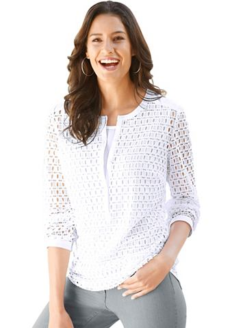 Комплект состоящий из einer блузка с к...