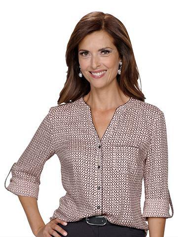 Блуза с графический дизайн
