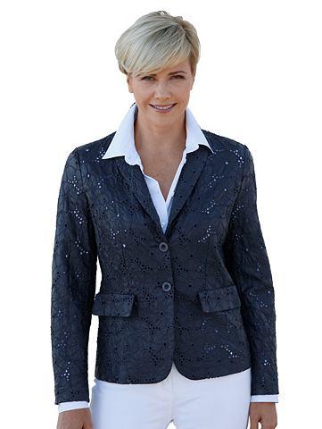 Пиджак из искуственная кожа