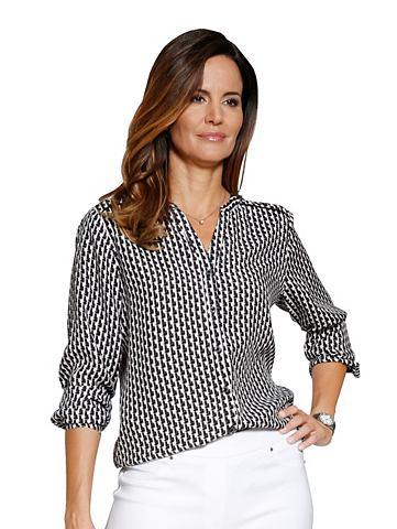 Блуза с графический Minimaldruck-Dessi...