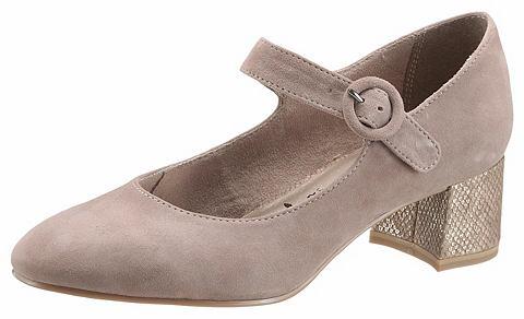 Туфли на ремешке с пряжкой