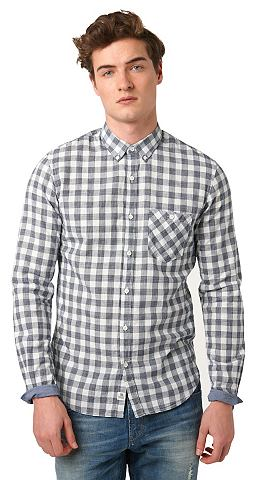 Рубашка »kariertes Button-Down H...