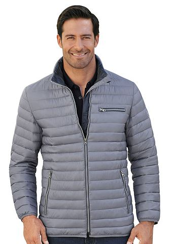 Куртка в блестящий имитация