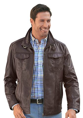 MAINPOL Marco Donati куртка кожаная с viel мес...