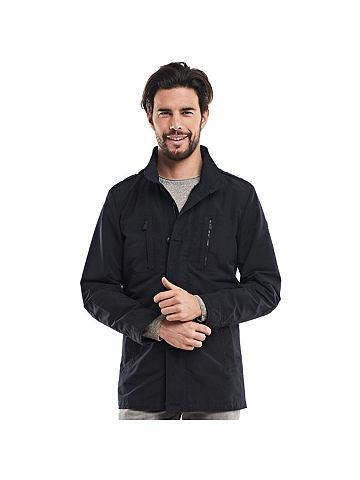 Модная длиный куртка