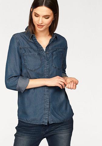 Джинсовая блузка