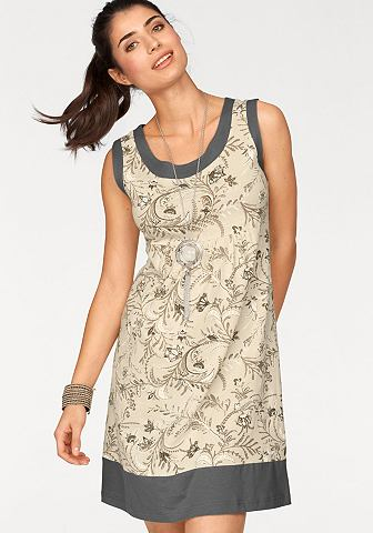 Платье из джерси