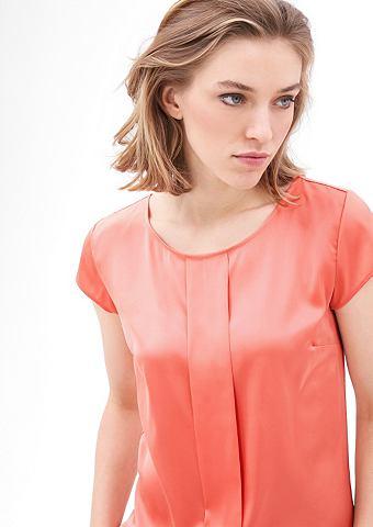 Блузка-рубашка с Satin-Front