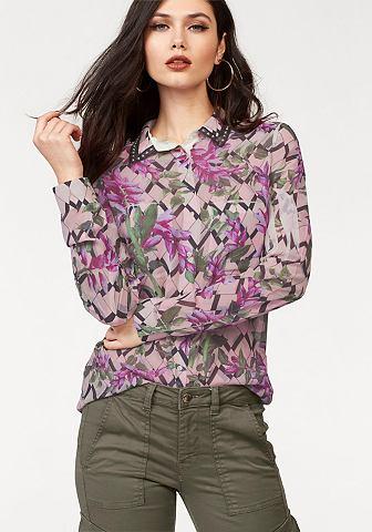 Блузка с набивным рисунком »CLOU...