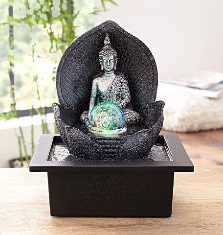 Комнатный фонтан »Silver Buddha&...