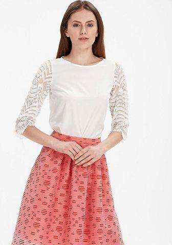 Ad L блузка с кружевом