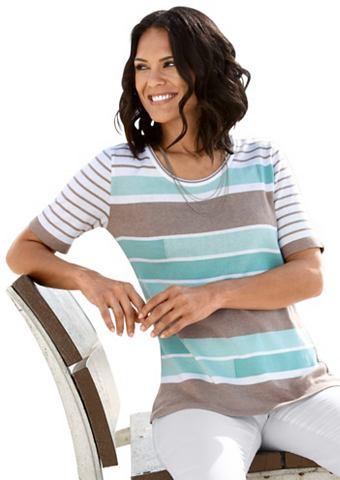 Пуловер в модный узор