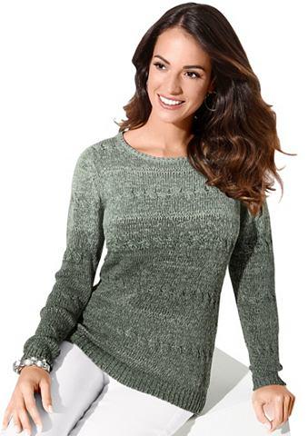 Пуловер с apartem стежка