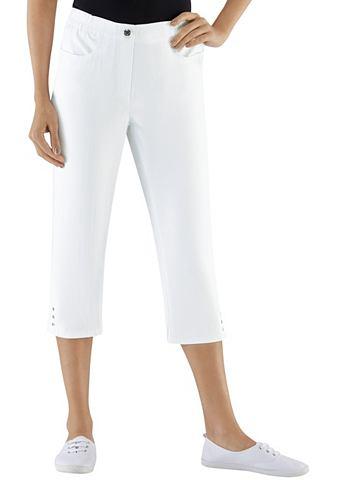 CLASSIC BASICS Капри-джинсы с широкая талия