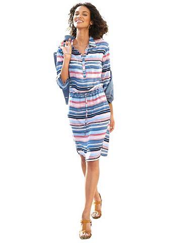 Платье с воротник