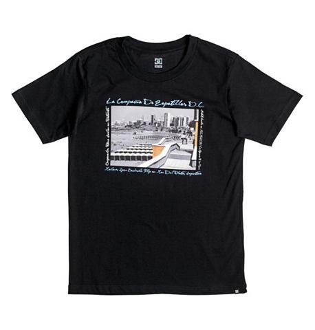 DC туфли футболка