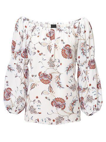 Блузка с набивным рисунком с в испанск...