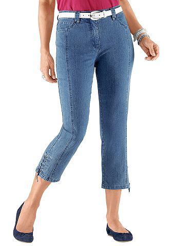 CASUAL LOOKS 7/8 джинсы с отстрочкой