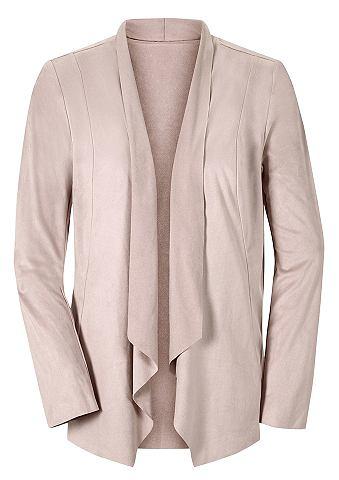 Пиджак из искусственной кожы с воротни...