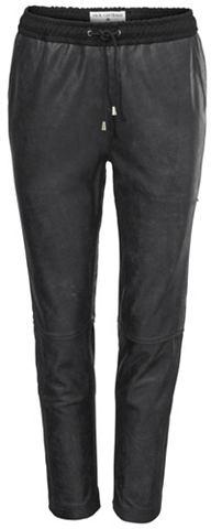 Кожаные брюки кожа ягненка с эластичны...