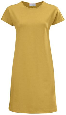Платье из джерси c короткими рукавами