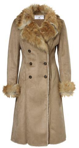 Пальто из искусственной кожи с Fellimi...