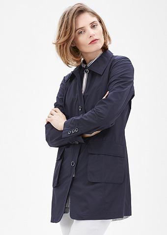 Пальто короткое из Blusenstoff