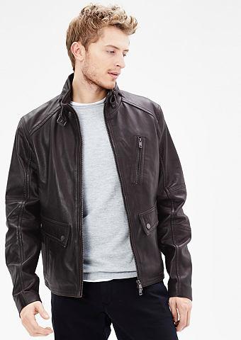 Куртка кожаная с Vintage-Finish
