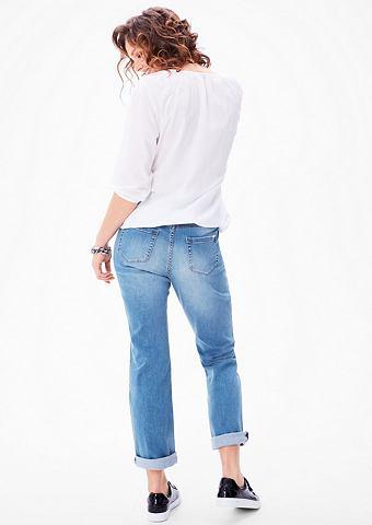 Regular: джинсы с прямой штанина