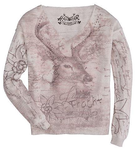 Пуловер для женсщин с Hirsch- и Edelwe...