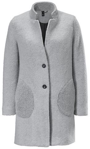Пальто короткое с Strickmix