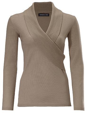 Пуловер шерсти мериноса