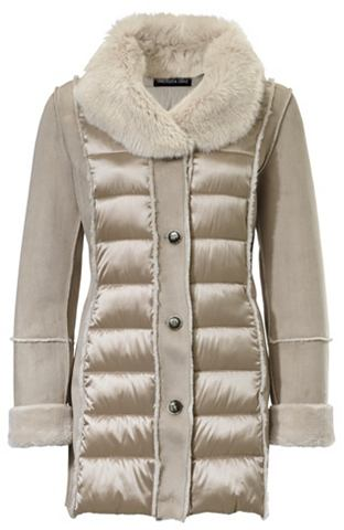 Шерстяное пальто имитация замша