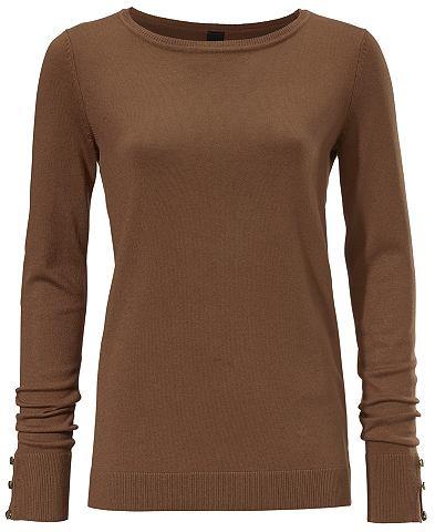 Пуловер с длинa рукавами