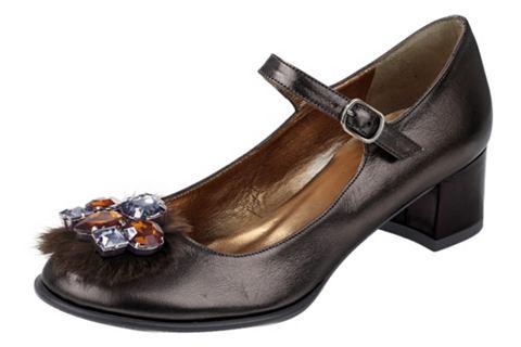Туфли с ремешками