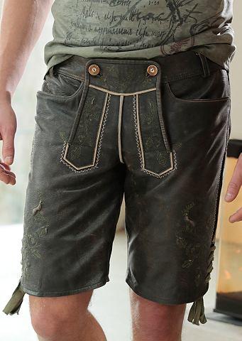 Spieth & Wensky короткий брюки кож...