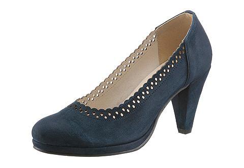 Туфли с сдержанный Perforierung