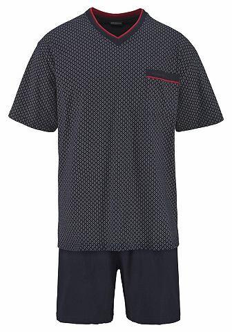 Götzburg пижама короткая с с V-об...