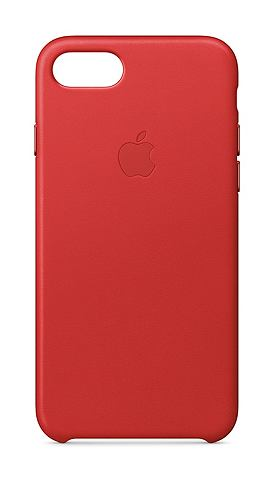 Case »IPHONE 7 LEATHER CASE Rot&...