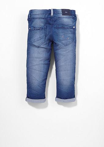 Suri: эластичный брюки-капри f
