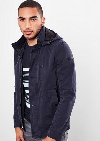 Куртка твиловая с капюшон