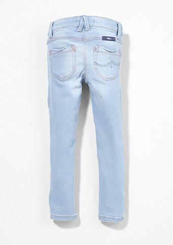 Облегающий Kathy: джинсы с страз f