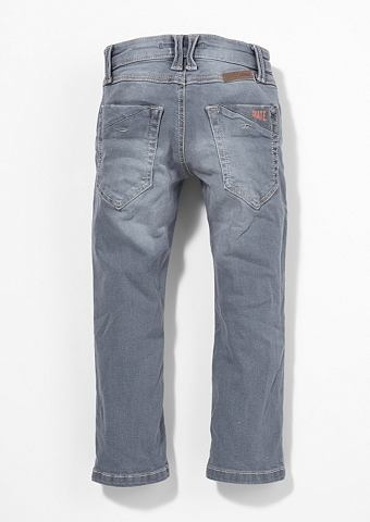 Pelle: Graue узкие джинсы f