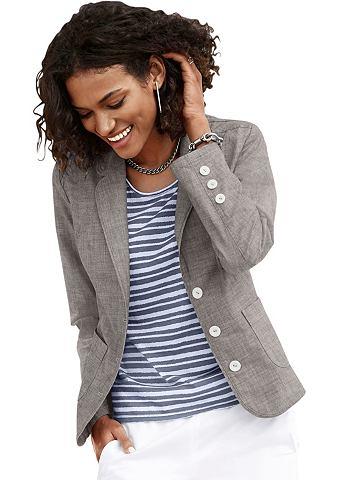 Пиджак с накладка для плеча