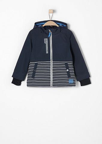 Куртка с теплой подкладкой в Streifen-...